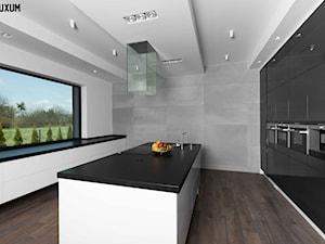 Minimalistyczne wnętrze z wykorzystaniem betonu architektonicznego