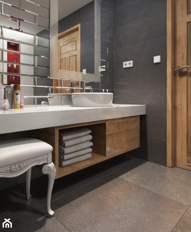 Płytki Lustrzane W łazience Zdjęcie Od Luxum Homebook