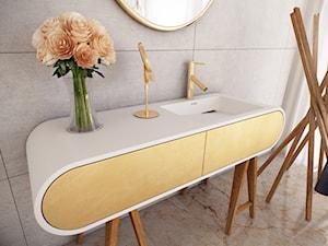 Luksusowa łazienka urządzona z LUXUM