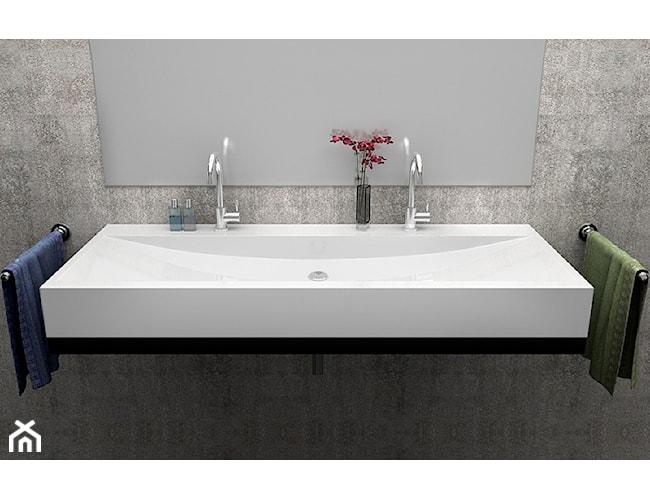 Klasyczna umywalka podwójna Luxum, dowolny rozmiar