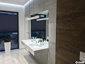 Wyjątkowa łazienka z wyposażeniem od Luxum
