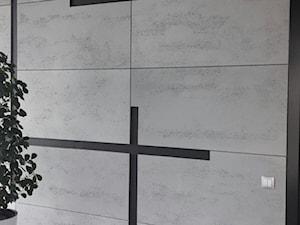 Płyty z jasnego betonu architektonicznego - siwa biel