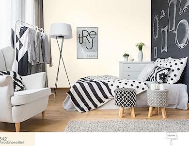 Sypialnia styl Skandynawski - zdjęcie od Śnieżka