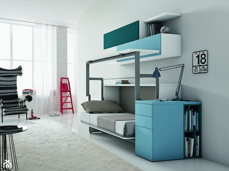 ko chowane z biurkiem click lift zdj cie od transforms ka chowane w szafie homebook. Black Bedroom Furniture Sets. Home Design Ideas
