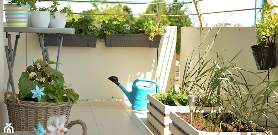 Mały balkon – 5 sposobów na urządzenie