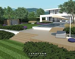 MODERN - Taras, styl nowoczesny - zdjęcie od Landform - Homebook