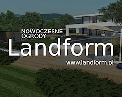 LANDFORM - NOWOCZESNE OGRODY - Ogród, styl nowoczesny - zdjęcie od Landform - Homebook
