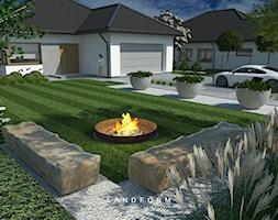 SIMPLE - Ogród, styl nowoczesny - zdjęcie od Landform - Homebook
