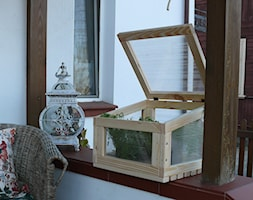 Mini szklarnia balkonowa - zdjęcie od Deco-Taras - Homebook