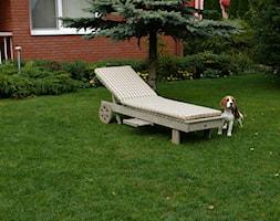 Drewniany leżak ogrodowy - zdjęcie od Deco-Taras - Homebook