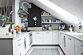 meble kuchenne pomalowane białą farbą renowacyjną