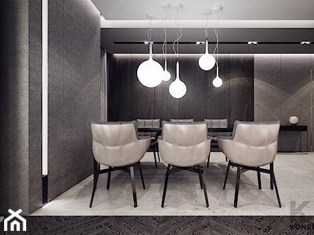 Aranżacje wnętrz - Jadalnia: Gen. Kościuszki - Duża otwarta szara jadalnia jako osobne pomieszczenie, styl minimalistyczny - KONZEPT Architekci. Przeglądaj, dodawaj i zapisuj najlepsze zdjęcia, pomysły i inspiracje designerskie. W bazie mamy już prawie milion fotografii!