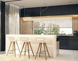 Kuchnia wizualizacja KONZEPT Architekci - zdjęcie od KONZEPT Architekci - Homebook