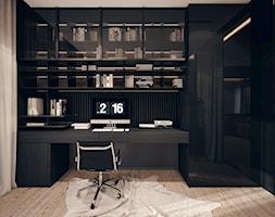 Gabinet - wizualizacja od KONZEPT Architekci - zdjęcie od KONZEPT Architekci