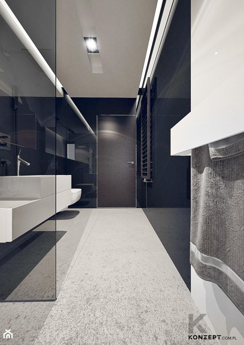 Masłomiąca - Łazienka, styl minimalistyczny - zdjęcie od KONZEPT Architekci