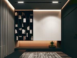 Gabinet - wizualizacja KONZEPT Architekci - zdjęcie od KONZEPT Architekci
