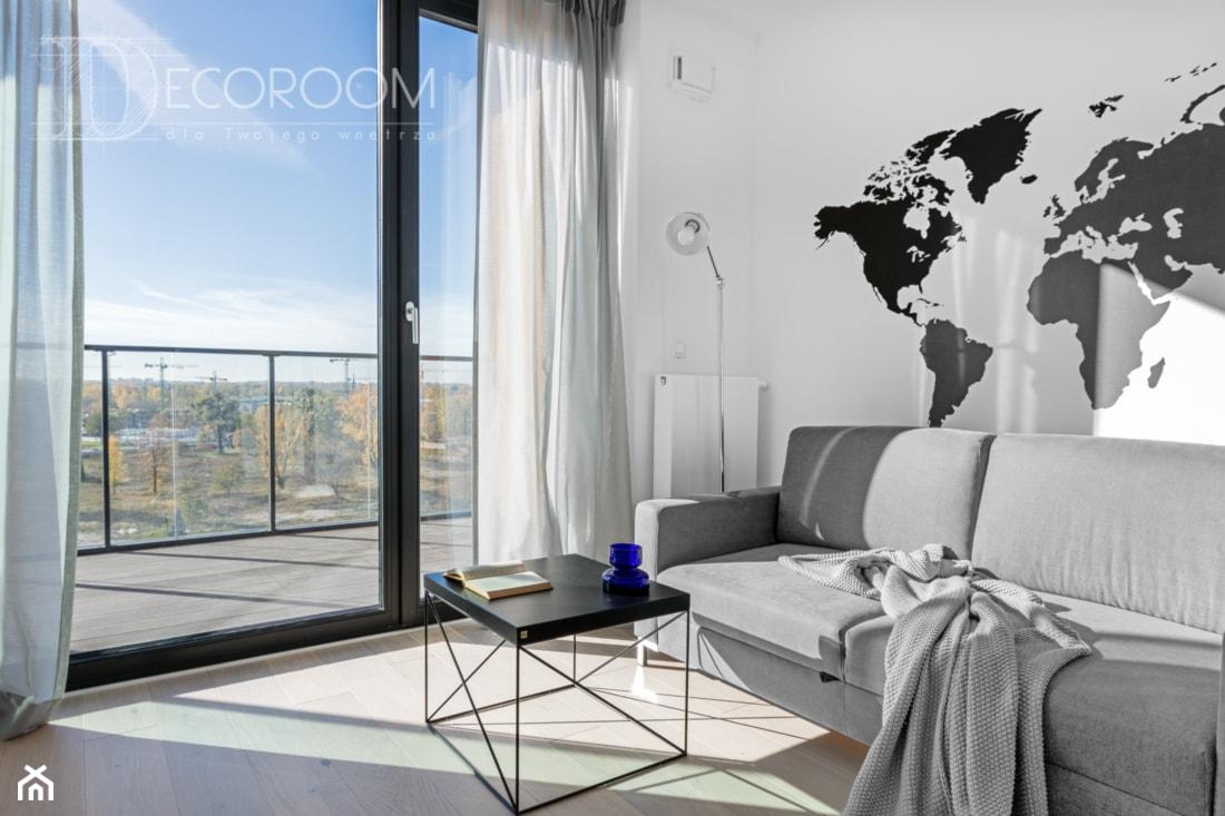 Nowoczesny LOFT - Salon, styl nowoczesny - zdjęcie od Pracownia Architektury Wnętrz Decoroom - Homebook
