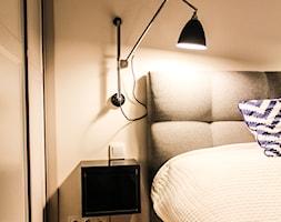 Mokotów 73m2 - Sypialnia, styl nowojorski - zdjęcie od Łukasz Milewski Architekt - Homebook