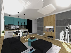 Nowoczesnie mieszkanie na Mokotowie 53m2