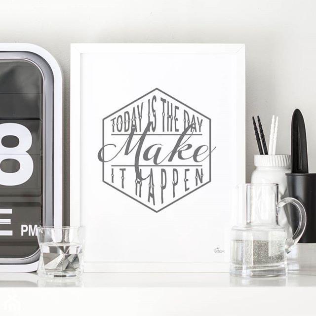 Motywujące I Inspirujące Typograficzne Plakaty Projektu
