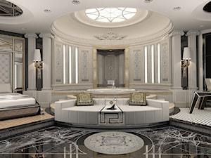 Projekt  łazienki show-roomu  Gianni Versace CD - autor J.Żurek