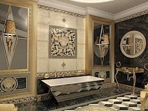 Mała łazienka w rezydencji