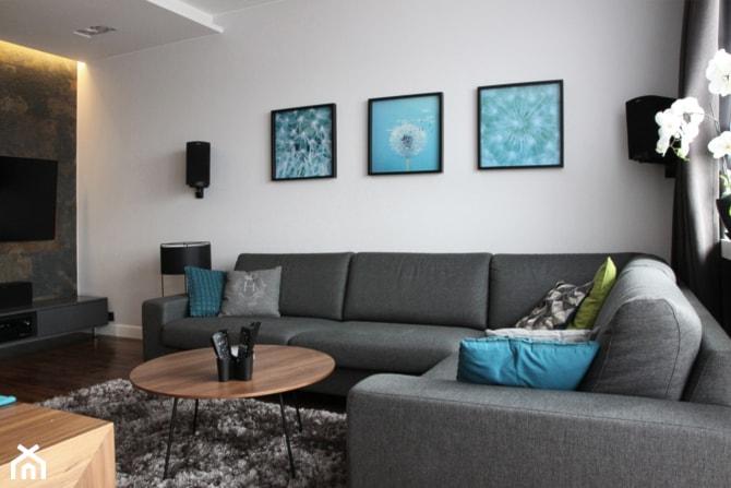 Salon mieszkanie na ursynowie zdj cie od hanna pietras for Salon hanna