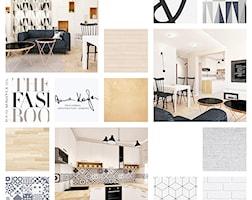 Salon styl Skandynawski - zdjęcie od Anna KarJan Pracownia architektury wnętrz