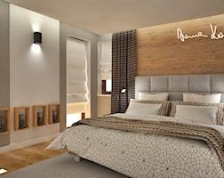 Sypialnia styl Nowoczesny - zdjęcie od Anna KarJan Pracownia architektury wnętrz