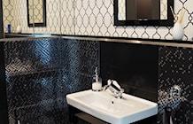 Łazienka styl Glamour - zdjęcie od Anna KarJan Pracownia architektury wnętrz