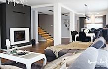 Salon - zdjęcie od Anna KarJan Pracownia architektury wnętrz