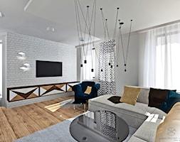 Salon+z+kuchni%C4%85+z+nut%C4%85+Art+Deco+-+zdj%C4%99cie+od+Anna+Przybylska+Design