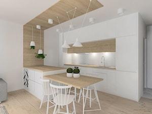 Kuchnia w stylu skandynawskim. - zdjęcie od Anna Przybylska Design