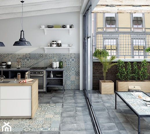 kuchnia styl rustykalny. Black Bedroom Furniture Sets. Home Design Ideas