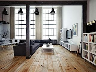 Mieszkanie w starej fabryce, czyli jak urządzić loft