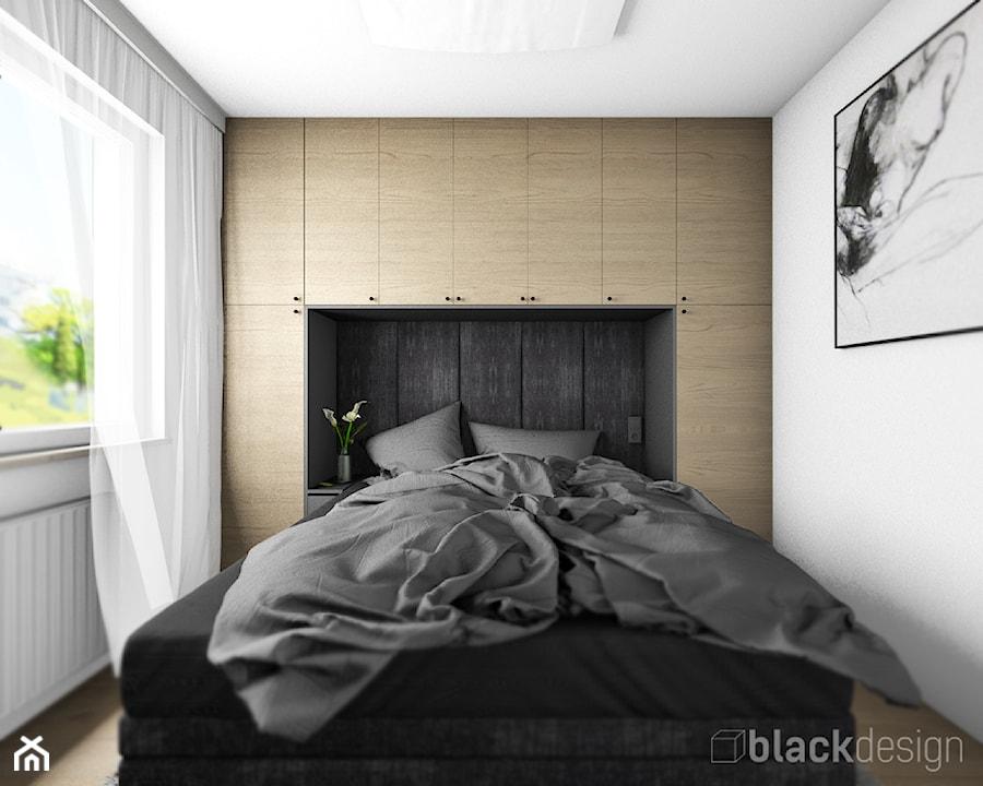 Męska Sypialnia Zabudowa Nad łóżkiem Zdjęcie Od Black