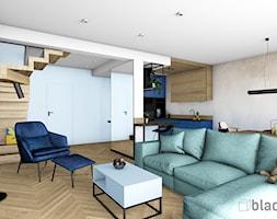 Dom w Gdańsku - Salon, styl eklektyczny - zdjęcie od black design - Homebook