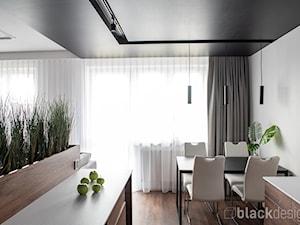 Mieszkanie męskie - Jadalnia, styl nowoczesny - zdjęcie od black design
