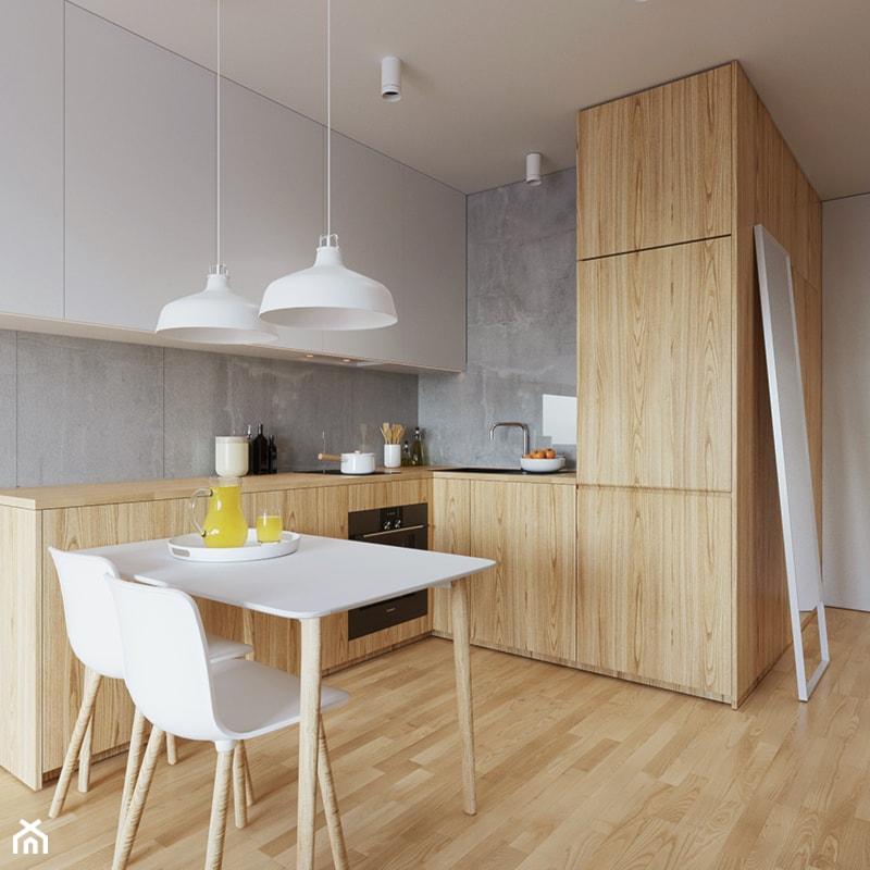 Mieszkanie WE  Mała otwarta kuchnia w kształcie litery l  -> Kuchnia Otwarta A Wentylacja