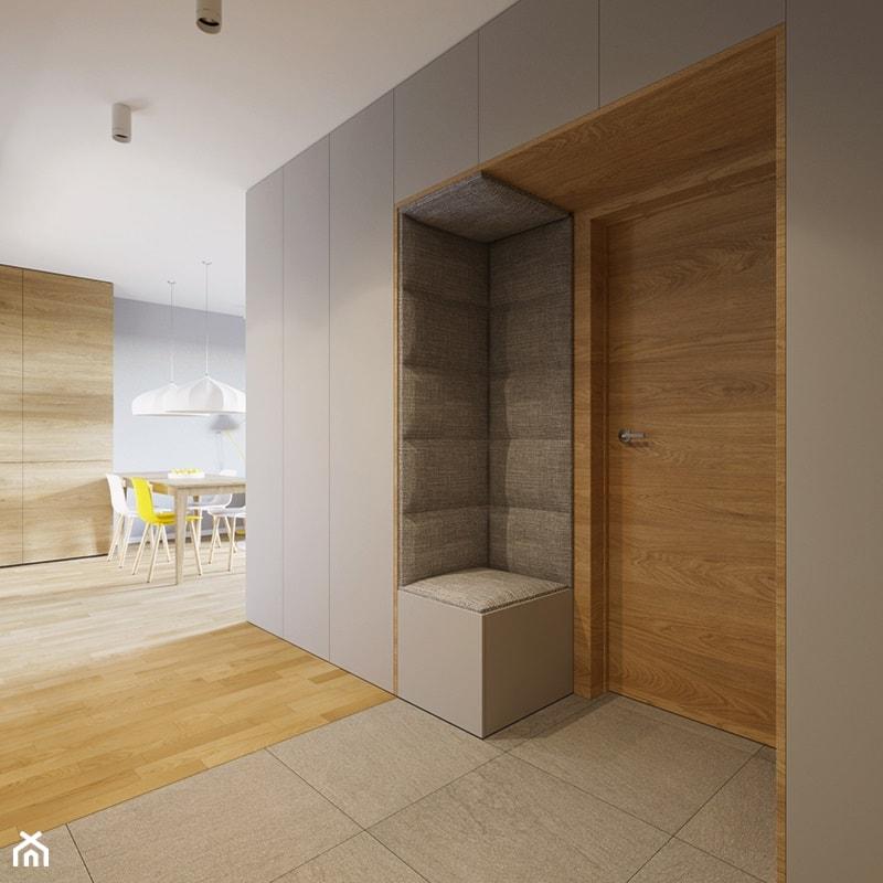 Mieszkanie PW  Mały hol  przedpokój, styl nowoczesny   -> Kuchnia Przedpokój Inspiracje