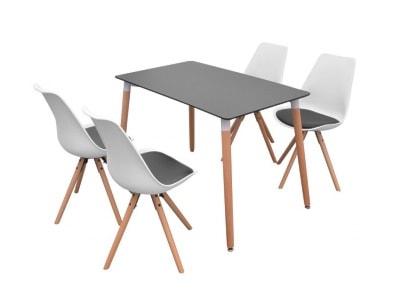 Stoły z krzesłami – modne wyposażenie wnętrz na Homebook.pl