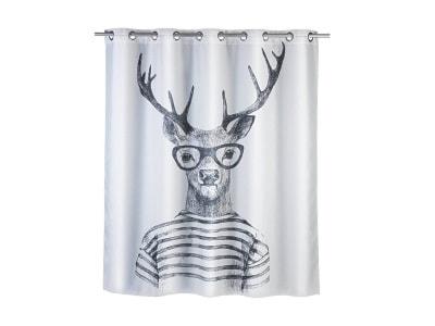 Zasłony prysznicowe – modne wyposażenie wnętrz na Homebook.pl