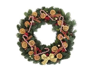 Stroiki i wieńce bożonarodzeniowe - wyposażenie wnętrz