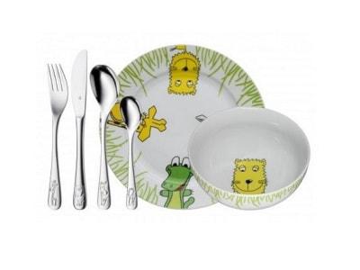 Naczynia dla dzieci - wyposażenie wnętrz