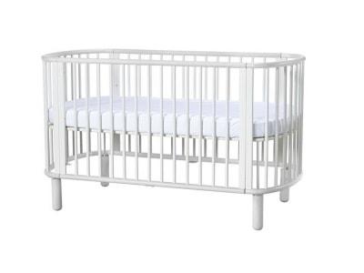 Brązowe Łóżeczka niemowlęce - wyposażenie wnętrz