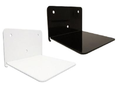 Półki biurowe Kolor czarny - wyposażenie wnętrz