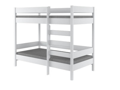 Łóżka piętrowe Kolor biały - wyposażenie wnętrz