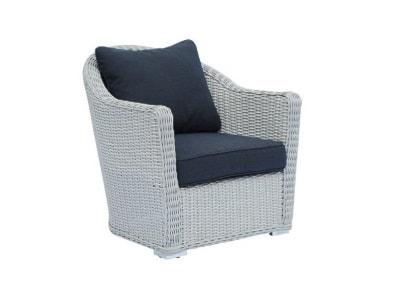 Czarne Fotele ogrodowe - wyposażenie wnętrz