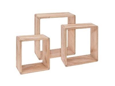 Czerwone Półki drewniane – modne wyposażenie wnętrz na Homebook.pl