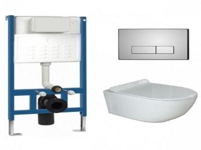 Zestawy podtynkowe WC – modne wyposażenie wnętrz na Homebook.pl